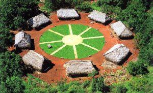 Aldeia indígena. Brasil. Recuperado em 3 de maio de 2020, de https://cultura.culturamix.com/historia/aldeias-indigenas-do-brasil.