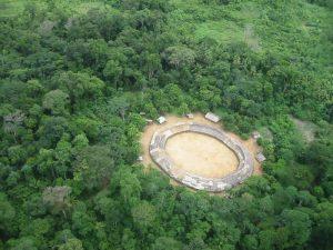 Aldeia Yanomani. Brasil. Recuperado em 3 de maio de 2020, de https://img.socioambiental.org/d/373336-3/demini.jpg.
