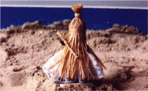 Figura de Obaluaiê. Foto: acervo pessoal, MLY.