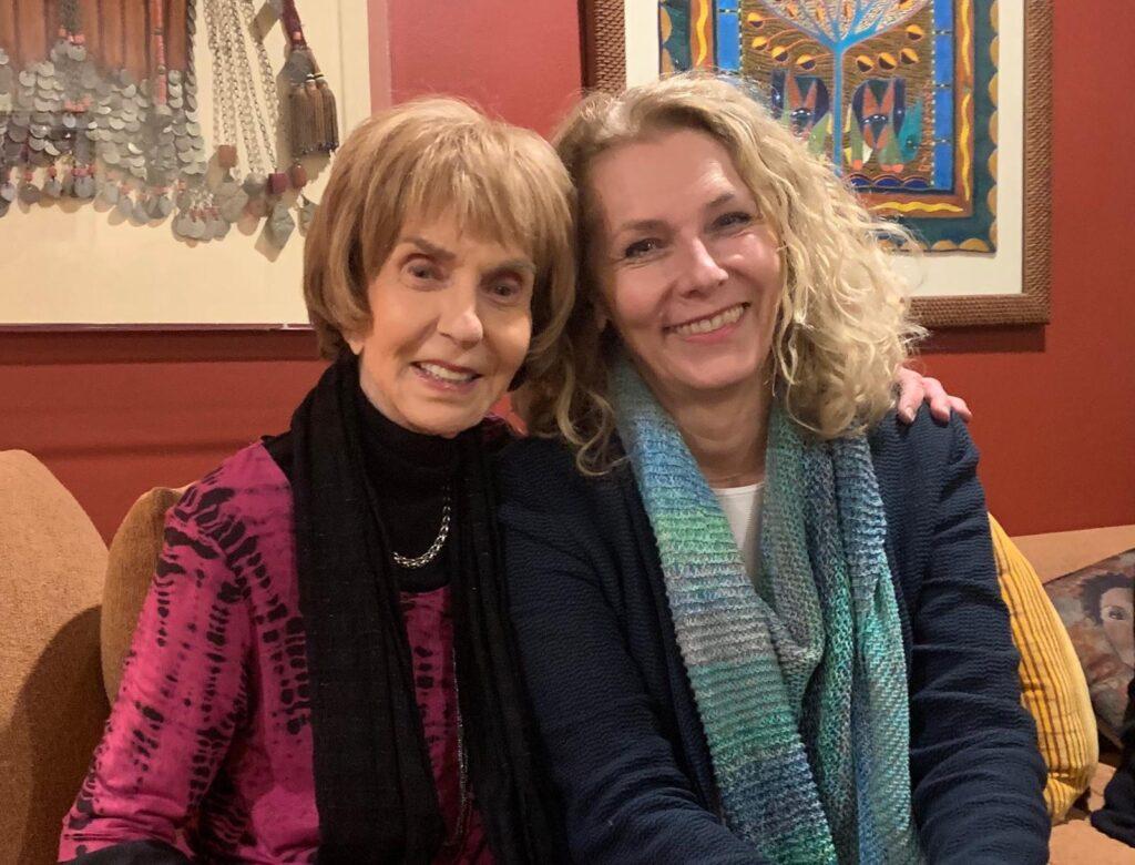 Harriet Friedman and Marion Anderson (arquivo pessoal)
